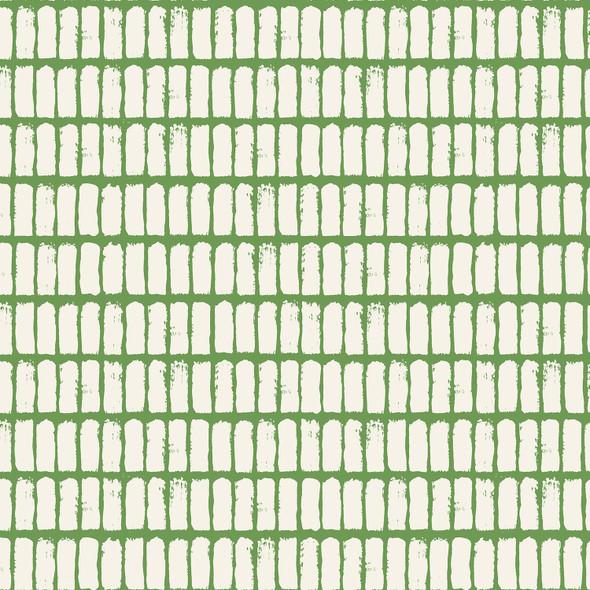 Green Fresh Rain Grandmother's Apron cotton fabric - Cotton + Steel