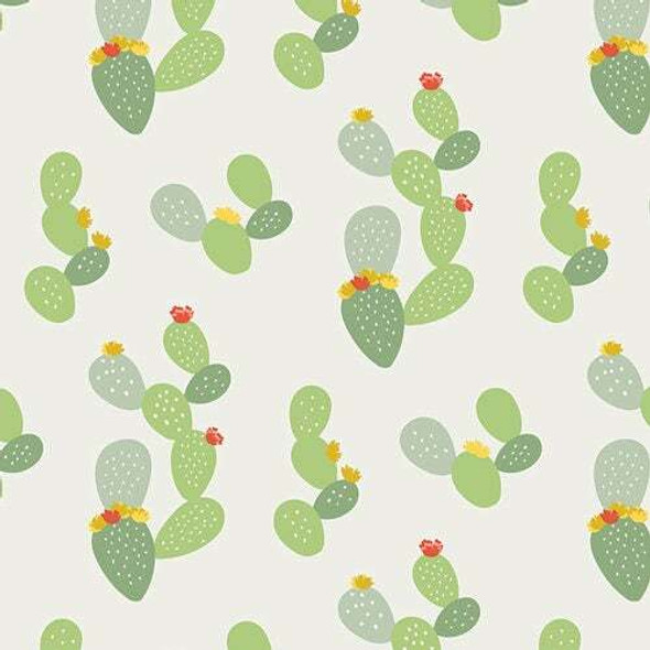 Prickly Cactus cotton fabrics design