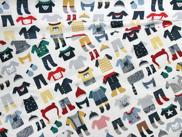 Winter Wear Fabrics design