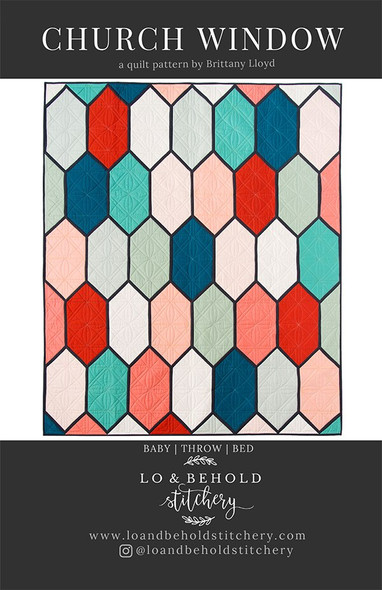 Church Window Quilt by Lo and Behold Stitchery