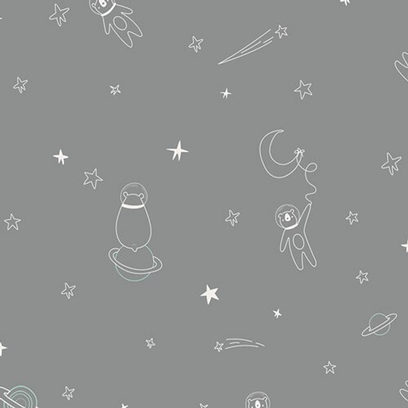 space animal fabrics design