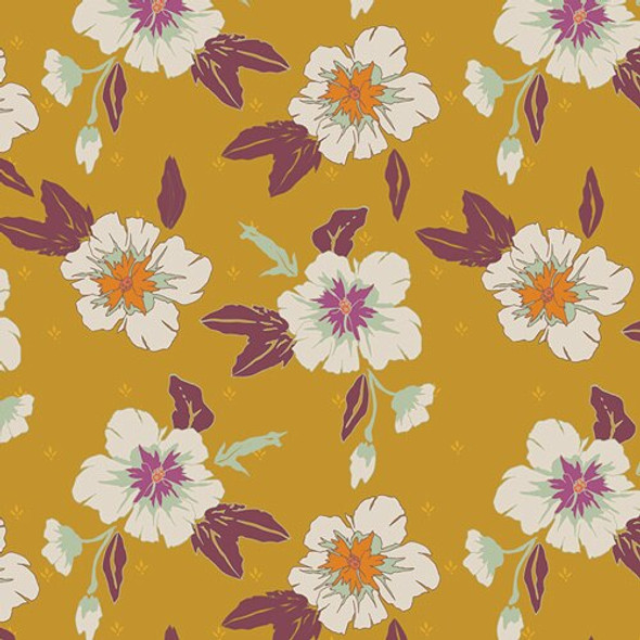 Autumn Nectar Honey fabrics design