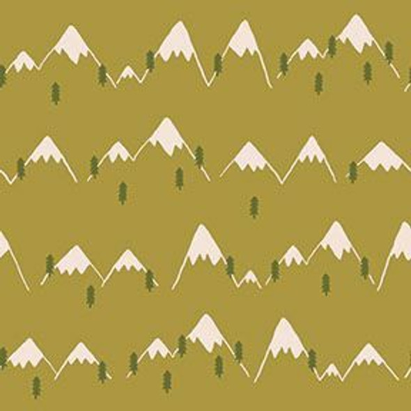 Green Mountain Range fabrics design