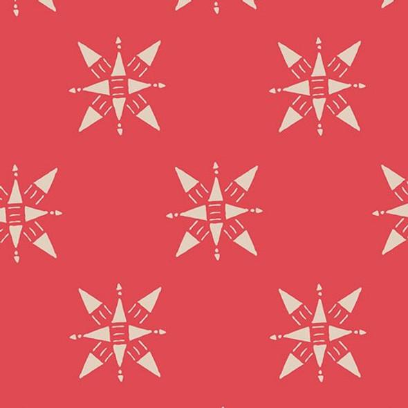 Ruby Red Compassion cotton fabrics design