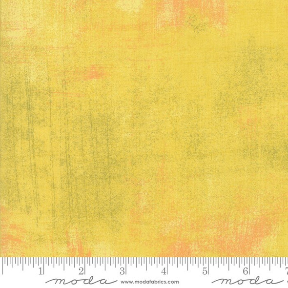 Yellow Curry Grunge cotton fabrics design