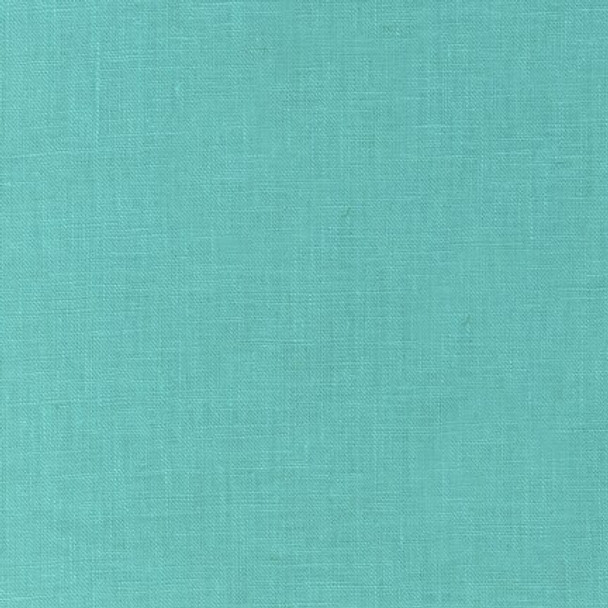 Aqua Essex Linen solid Fabrics design