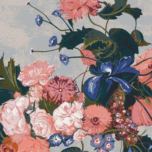 Graceful Bouquet Fondant floral fabrics design