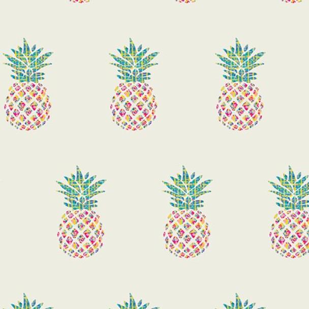 Pineapple quilt cotton fabrics design