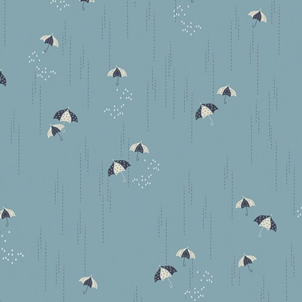 Blue Umbrella Charleston AGF cotton Fabrics design
