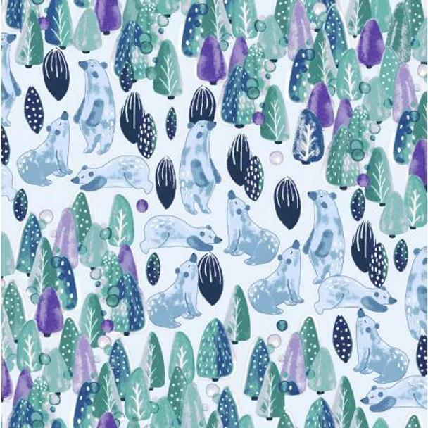 Save the Polar Bears fabrics design