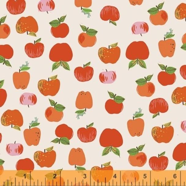 Red Apple Anniversary Windham Collection fabrics design