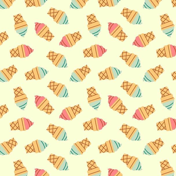 Food Trucks Ice Cream fabrics design