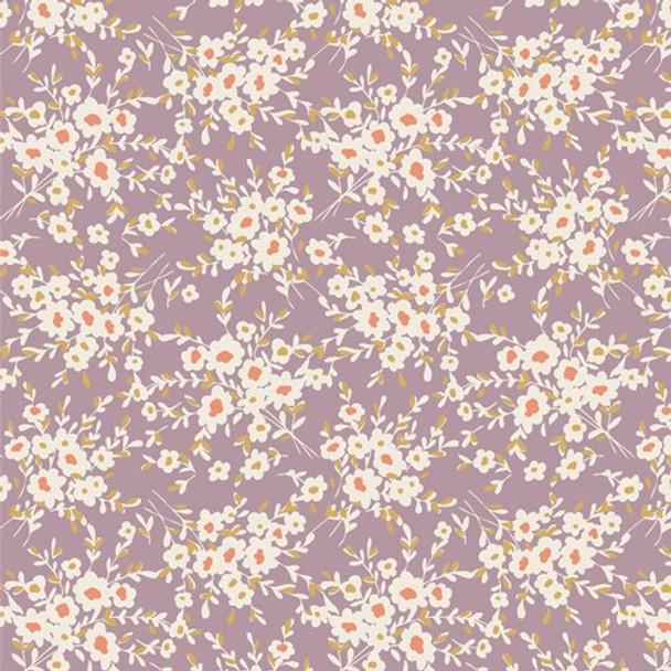 Calico Days Lavender cotton fabrics design