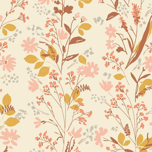 Nature Walk Yellowstone floral fabrics design