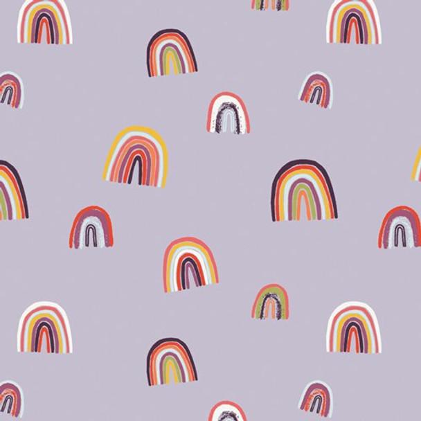 Modern Rainbow cotton fabrics design