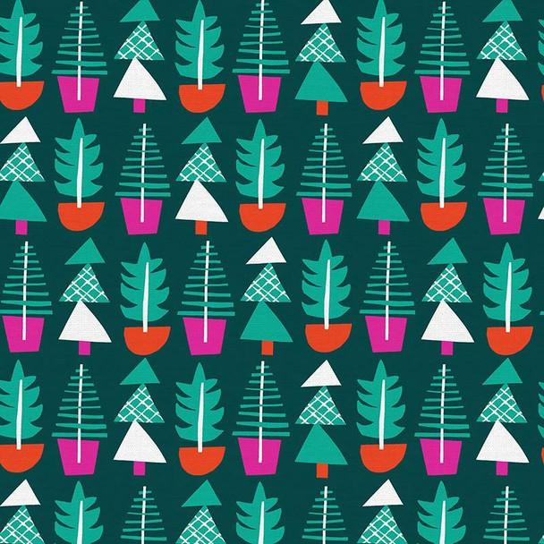 Holiday Evergreens cotton Fabrics design
