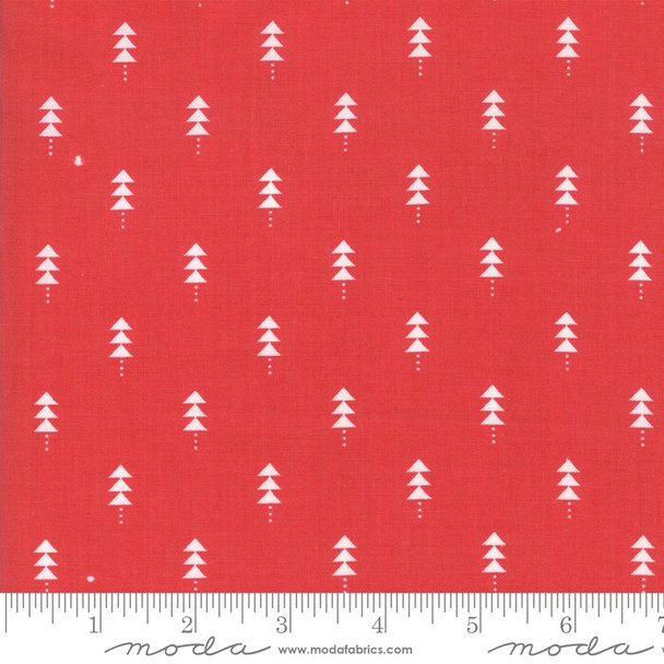 Red Christmas tree Fabrics design