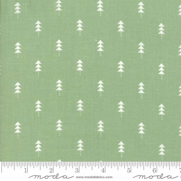 Green Christmas tree Fabrics design