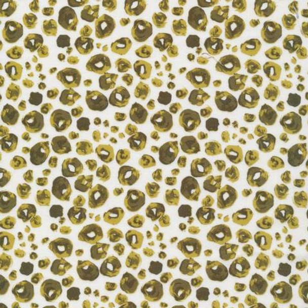 Green animal print fabrics design