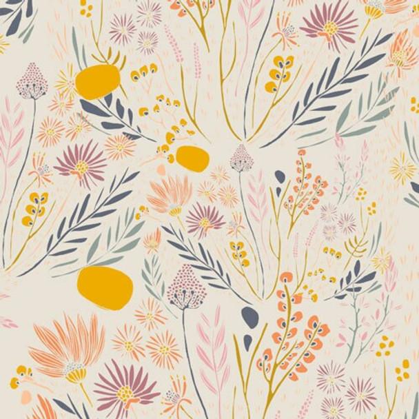 Wispy Daybreak Aura fabrics design