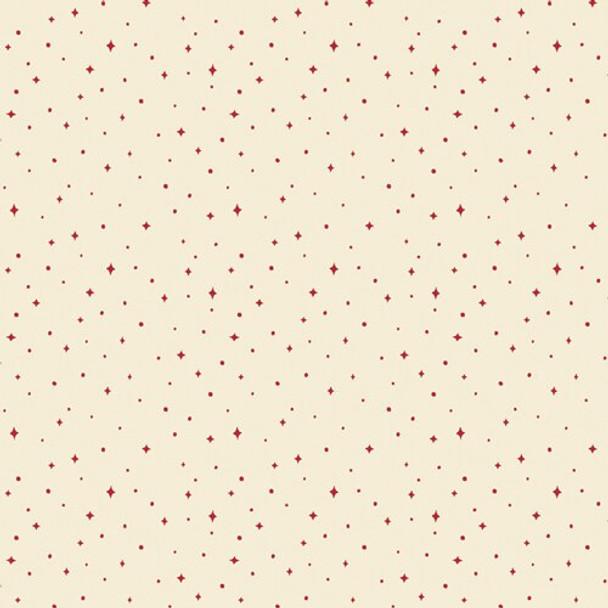 Cream Starry Night Fabrics design