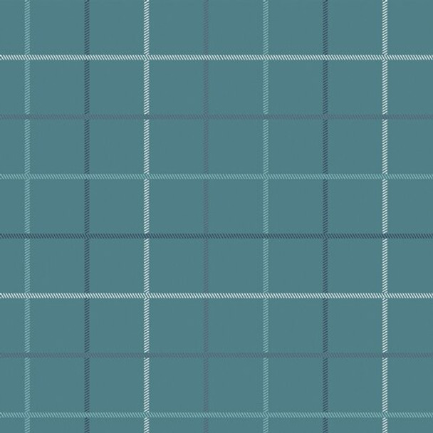 Blue Plaid cotton fabrics design
