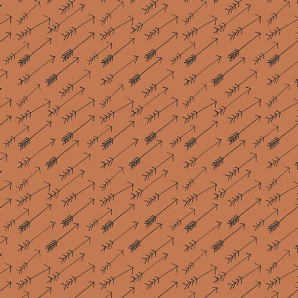 Brown Arrow fabrics design