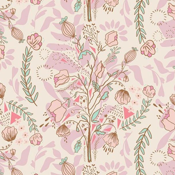 Pastel floral Fabrics design