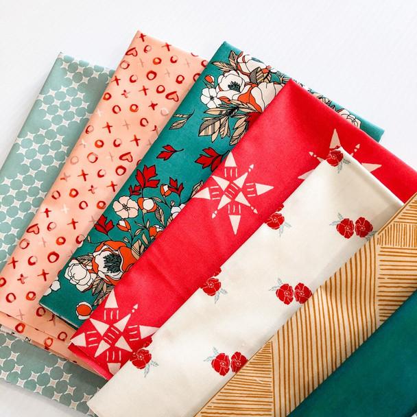 Love Story Bundle quilt Fabrics design
