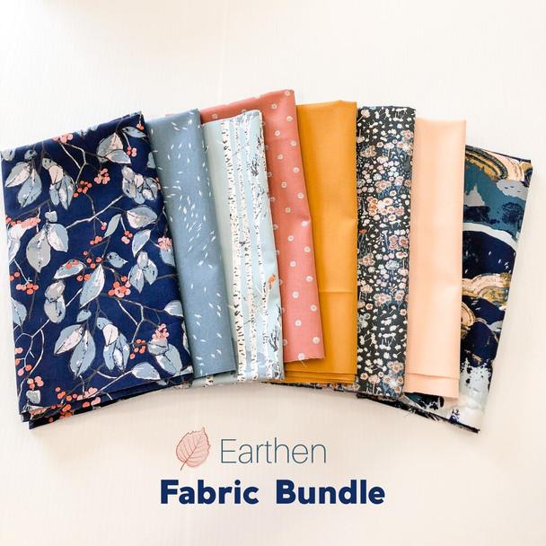 Earthen 8-piece Fabric Bundle quilt cotton fabrics design