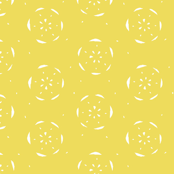 Citrus Lemon fruit fabric - AGF Citrus Limon Floralish cotton QTR YD