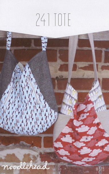 241 Tote bag sewing pattern