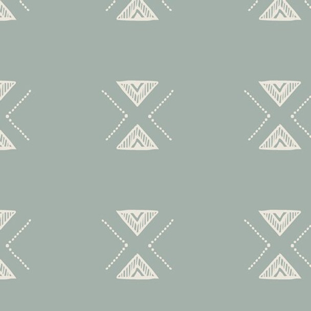 Triangular Serenity Low Volume fabrics design