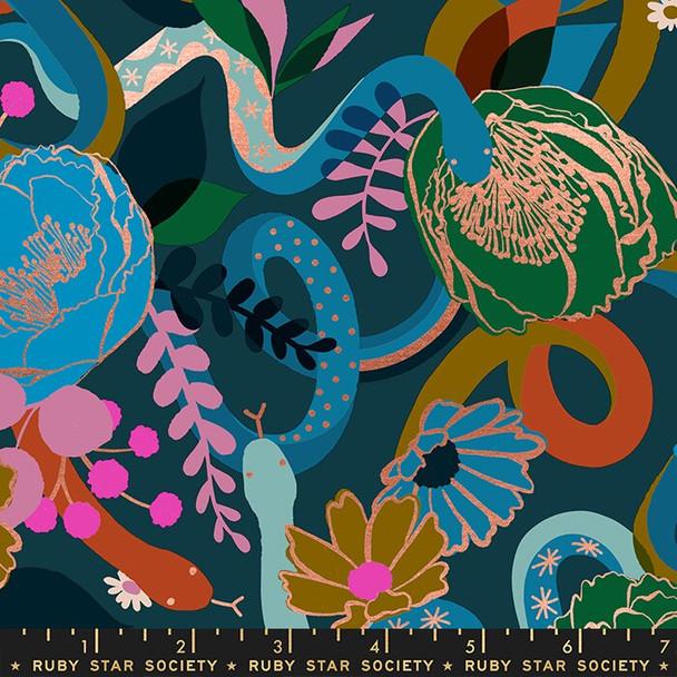 Dream floral peacock fabrics design