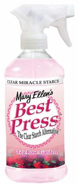 Best Press Spray Starch bottle Tea Rose Garden