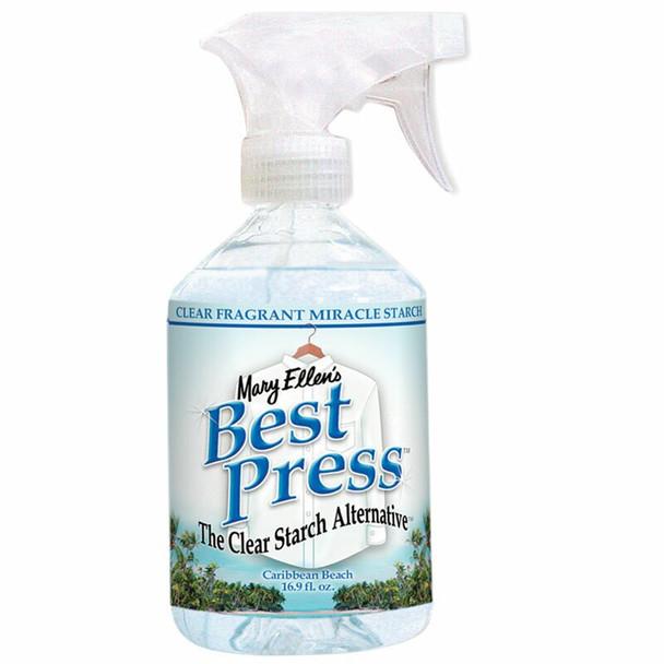 Best Press Spray Starch bottle Caribbean Beach