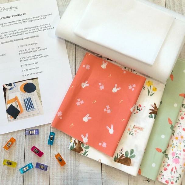 Pastel bunnies Riley Blake Designs kit