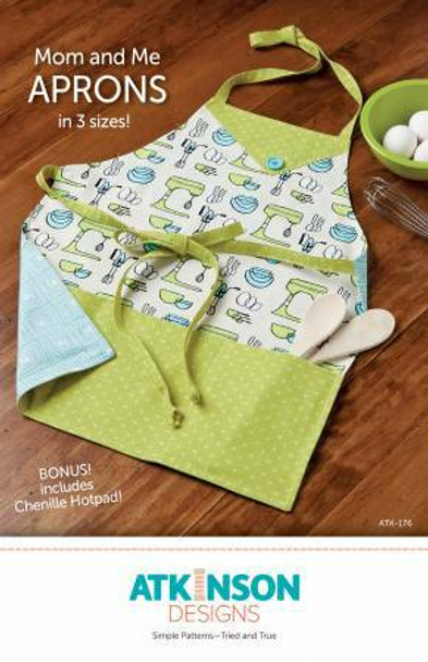 Mom & Me Aprons Sewing Pattern Kids Adults