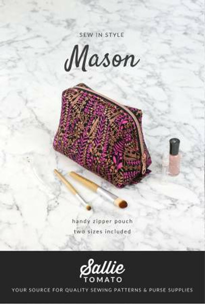 Mason Pouch sewing pattern