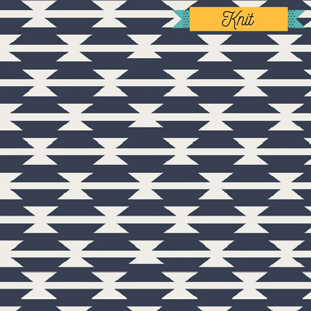 Tomahawk Stripe KNIT fabrics design