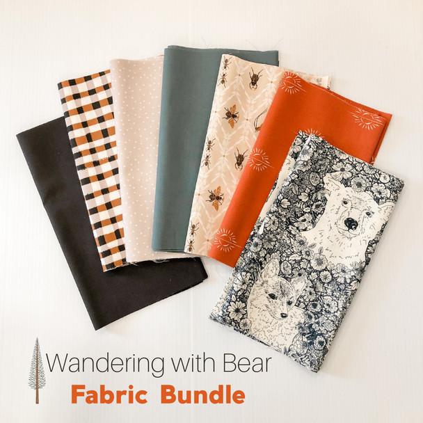 The Open Road forest fabric bundle 7 piece bundle AGF quilt cotton