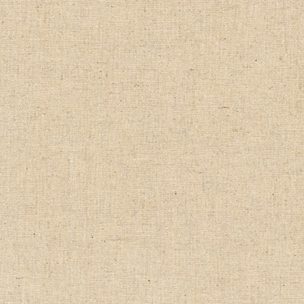 Natural cotton linen fabric Essex Robert Kaufman