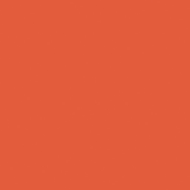 Tigerlily dark orange cotton solid fabric Pure Solids