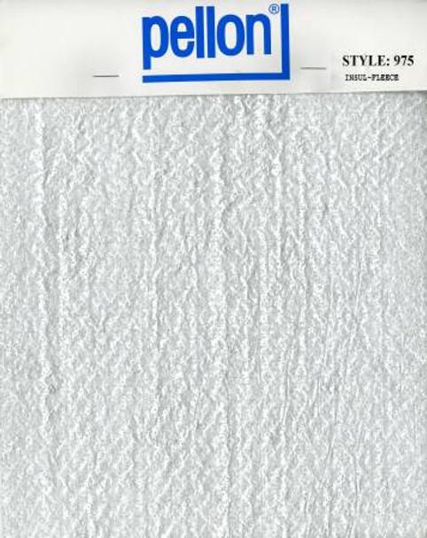 Pellon Insulated Fleece 45 inches wide fabric - Pellon 975