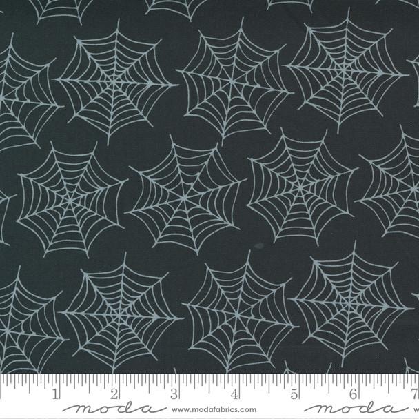 Black Spider Webs - Holiday Halloween fabric Moda Fabrics quilt cotton