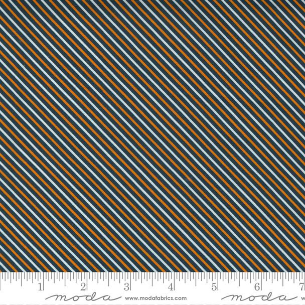 Halloween Stripe cotton fabric - Moda Fabrics Holiday Halloween