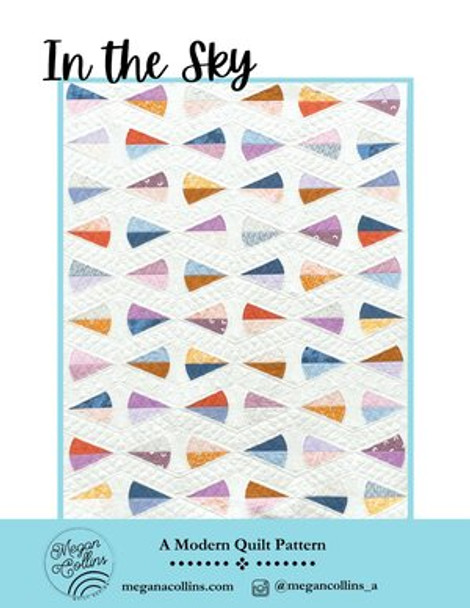 In The Sky Quilt Pattern by Megan Collins printed quilt pattern