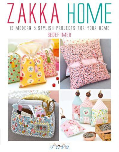 Zakka Home Book Modern Sewing Pattern Project Hardcover Book