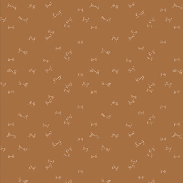 Flights of Fancy Gilded quilting cotton - AGF Bookish fabric QTR YD