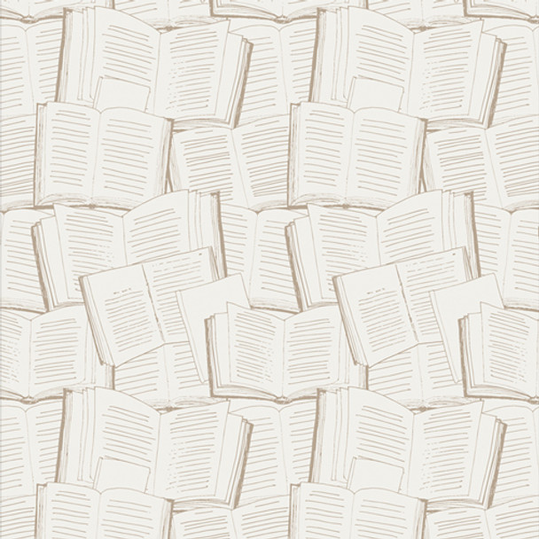 Vintage Book Pages - Page Turner AGF Bookish quilting cotton QTR YD